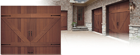 Wood Premium Elite Garage Doors