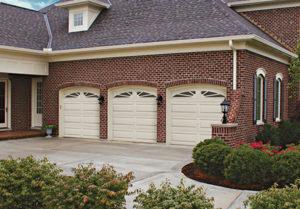 Premium Series steel garage doors 8x7 long panel garage doors install