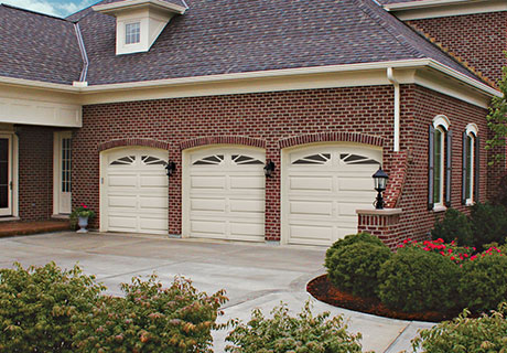 classic steel three layer construction garage door