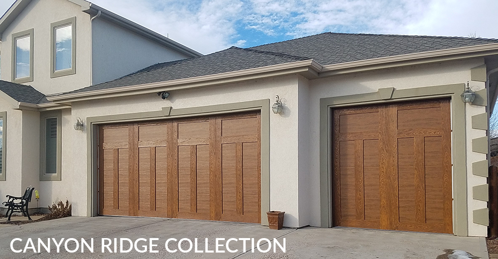 DesignerWood Garage doors