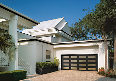 modern Collection Full View Glass Garage Door Installed Pricing