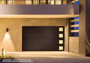 Modern Steel Collection Garage Door