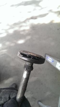 Extreme Drage Damage Door Off Track Noisy Roller
