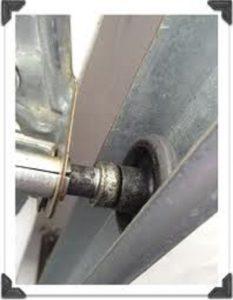 Drag Damage Bad Vinyl Garage Door Roller