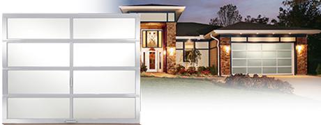 Modern ALL Glass Avante Garage Doors
