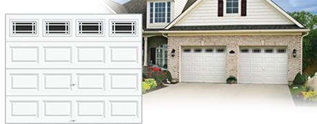 standard Steel garage door installed pricing