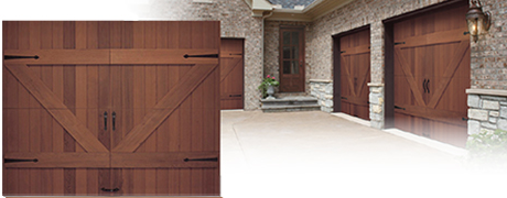 Real Wood Custom Garage Doors Installed Pricing