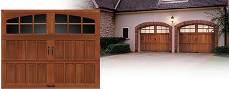 Designer Wood Garage Doors