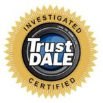 GARAGE DOOR LOW PRICE GUARANTEE TRUST DALE CERTIFIED