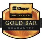 CLOPAY EXCLUSIVE GOLD BAR LIFETIME SPRINGS AND ROLLERS WARRANTY LOW PRICE GUARANTEE
