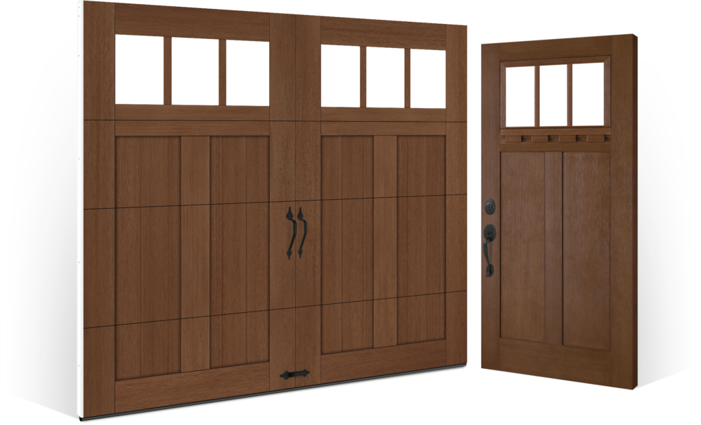 Clopay Fiberglass Entry Doors Craftsman Collection