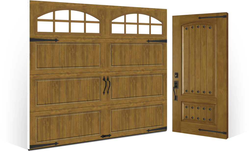Clopay Fiberglass Entry Doors Rustic Collection