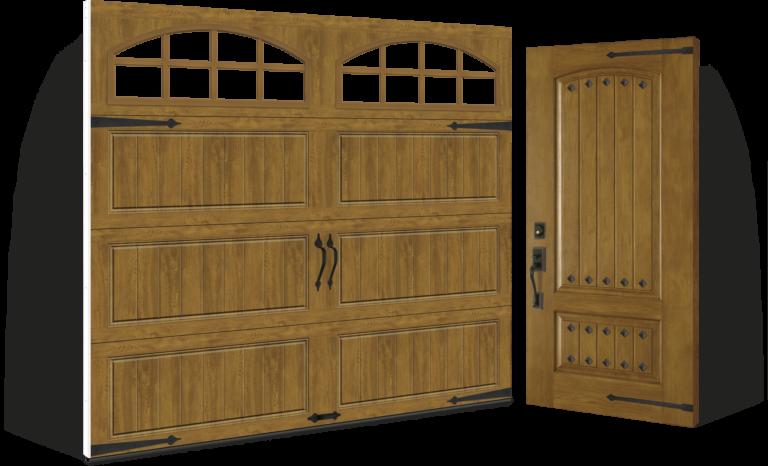 Clopay Fiberglass Entry Doors Rustic Collection
