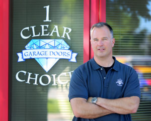 chris Chapman Owner One CLear Choice Garge Doors and Entry Doors
