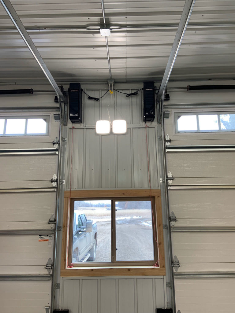 RJO INSTALLED ON FOURTEEN FOOT GARAGE DOORS