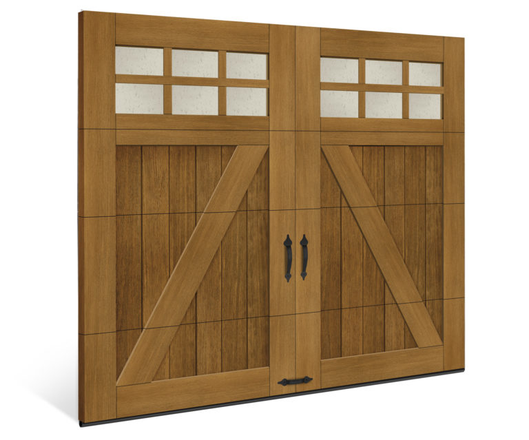 Canyon Ridge Faux Wood Garage Door Clopay