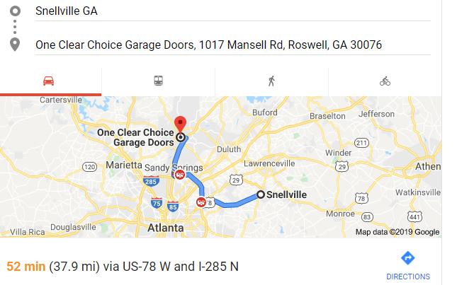 Garage Doors Near Snellville, Ga.