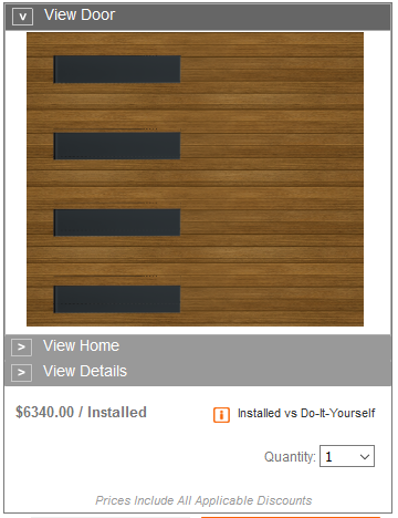 HOME DEPOT MODERN COLLECTION PRICING SIDE WINDOWS
