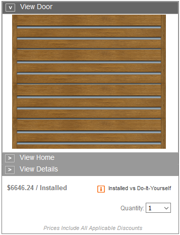 HOME DEPOT MODERN COLLECTION PRICING STEEL INLAYS