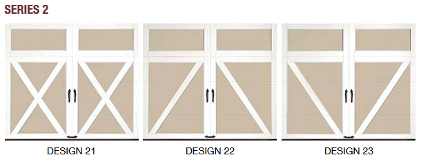 SERIES 2 COACHMAN CARRIAGE HOUSE GARAGE DOOR DESIGN