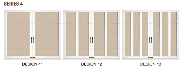 SERIES 4 COACHMAN CARRIAGE HOUSE GARAGE DOOR DESIGN