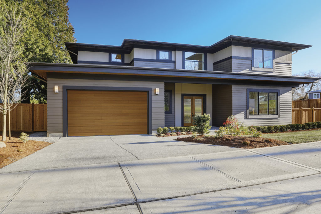 Clopay Modern Collection Garage Door Install One Clear