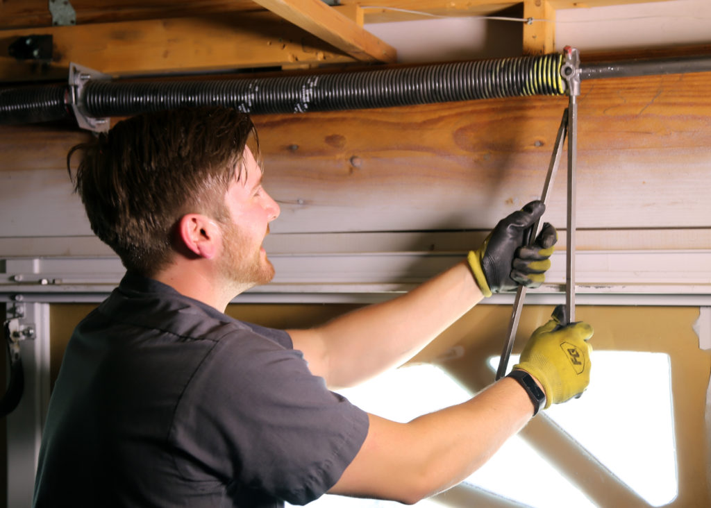spring replacement spring retension can prevent garage doors from failing