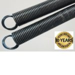 10 YEAR EXTENSION SPRING REPLACEMENT: 10 YEAR WARRANTY SPRING 5 YEAR WARRANTY BROKEN SPRING LABOR