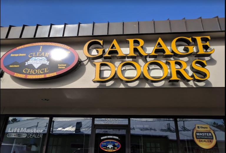 ONE CLEAR CHOICE GARAGE DOOR SHOWROOM DENVER