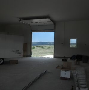 HIGHLIFT GARAGE DOOR TRACK INSTALLATION HIGH CEILINGS