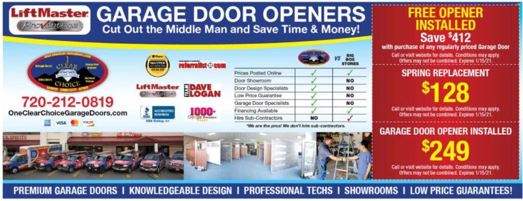 VALPAC GARAGE DOOR REPAIR AND GARAGE DOOR OPENER DISCOUNTS