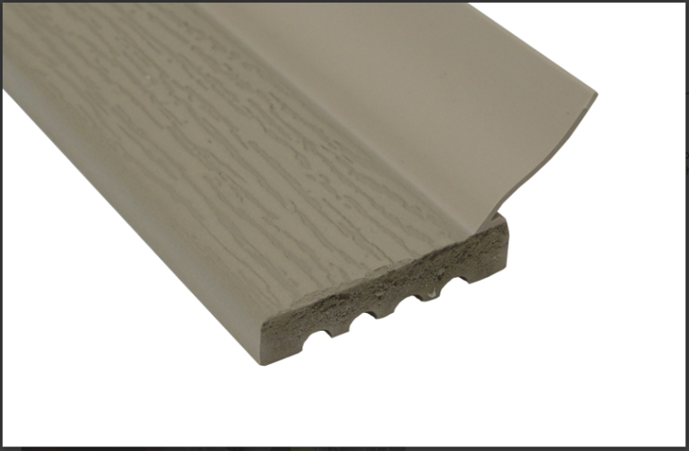 Sandstone jamb seal weather stripping